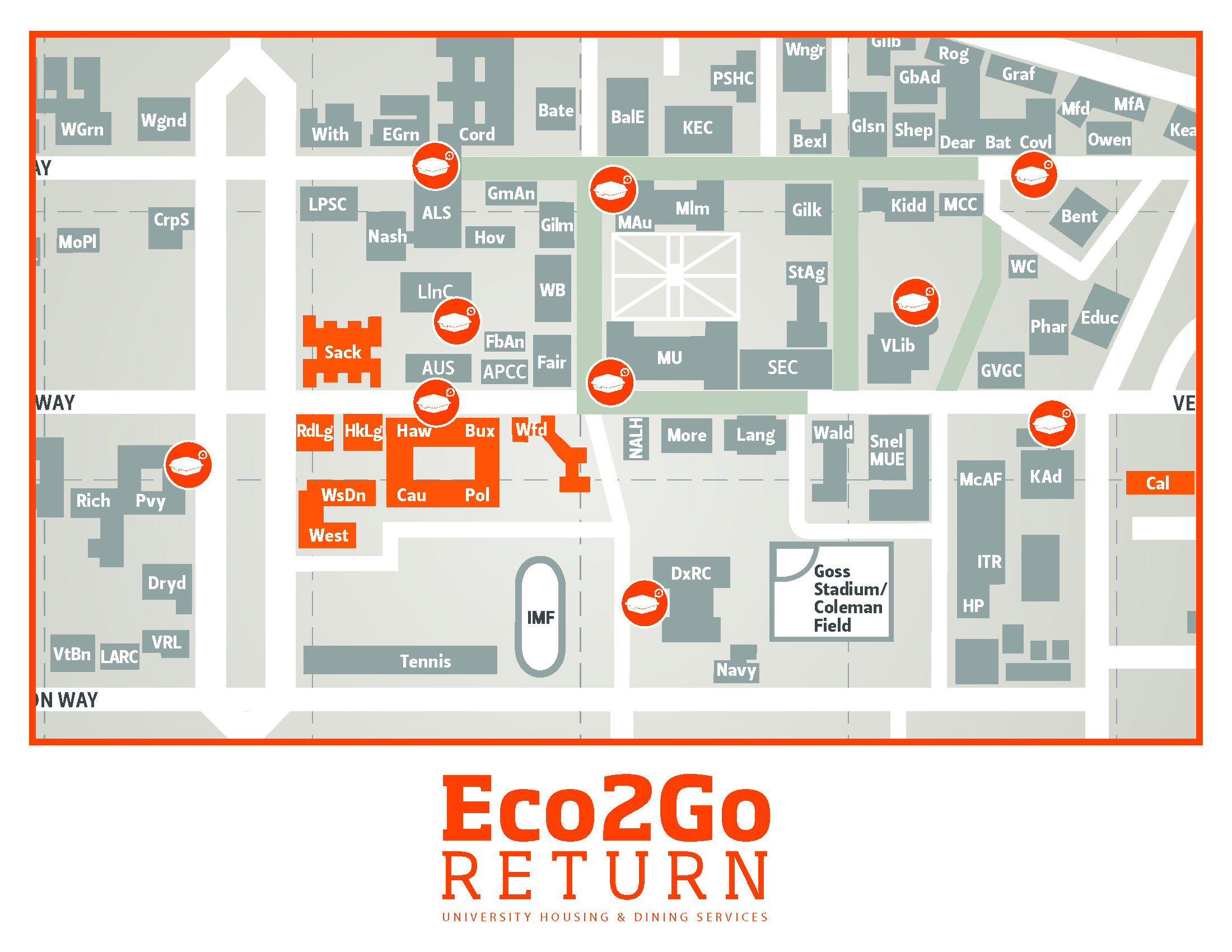 Eco 2 Go return map