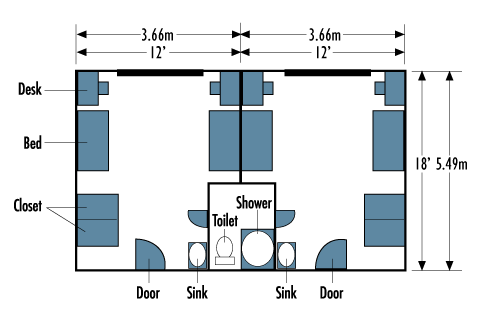 Bloss Hall Floorplan