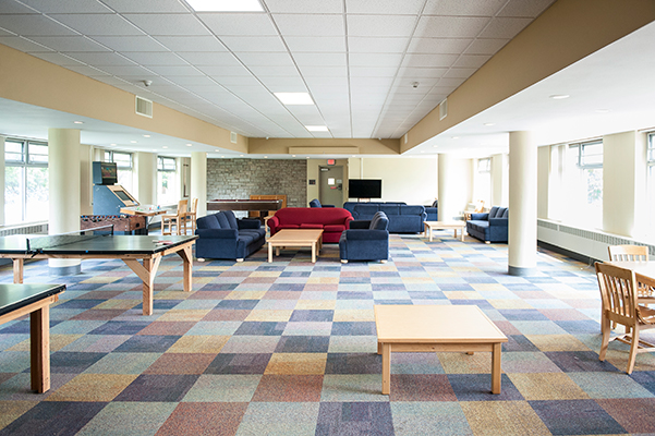 Lounge in Callahan Hall
