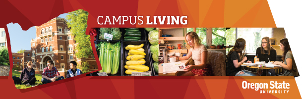 Campus Living header graphic