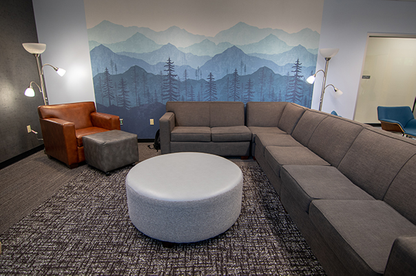 couches in Finley lounge