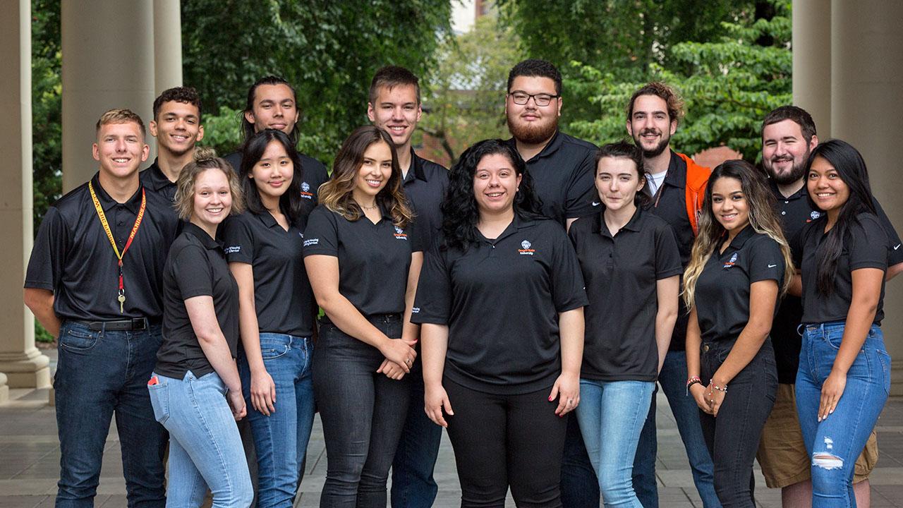 McNary & Dixon student staff 2017-18