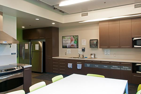 International Living-Learning Center kitchen