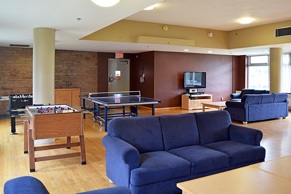 lounge in McNary Hall