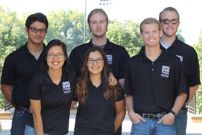 Residence Hall Association Executive Council members