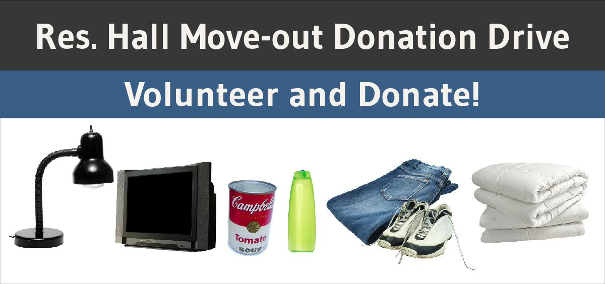 Move-Out Donation Drive