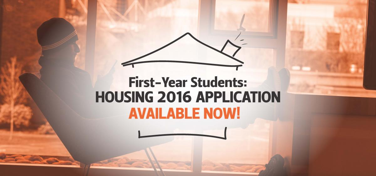 2016 Housing Application