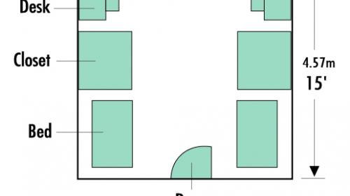 Buxton Hall Room Plan