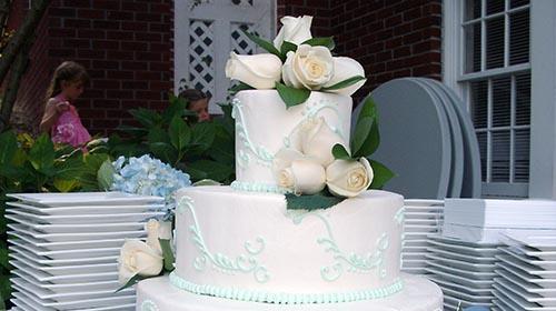 university catering cake