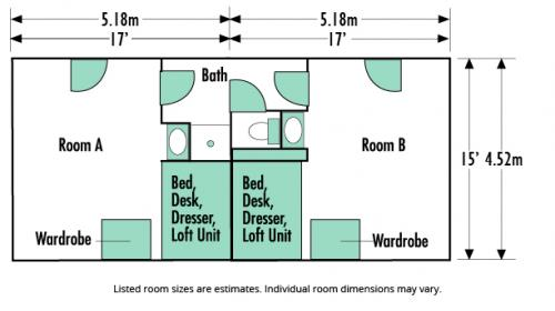 West Hall Floor Plan