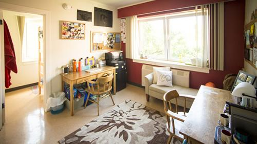Residence Hall Room in Sackett Hall
