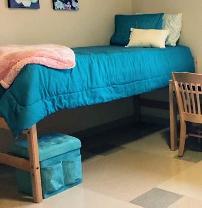 Type 1 student bed