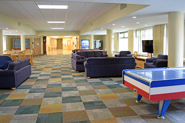 Wilson Hall lounge